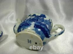 1940-50's Porcelain Minature Blue Willow 29pc Childs Tea Set Made in Japan