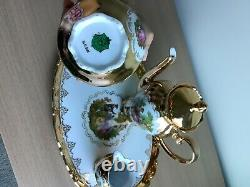 3 Piece Bavaria Tea Set Made In Germany with tray
