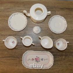 American Girl Doll Pleasant Company Samantha Tea Party Set Porcelain Retired