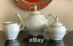 Anna Weatherley Simply Anna Gold Rim Tea Set