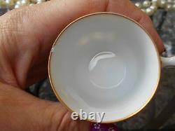 Antique Franziska Hirsch German Dresden Porcelain Tea Set