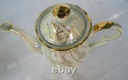 Antique Porcelain Tea Set PETE 22 Pc. Beautiful