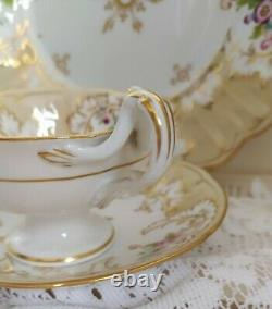 Antique Ridgway English Porcelain Bone china Tea Cup & Saucer Duo Set. Savoy