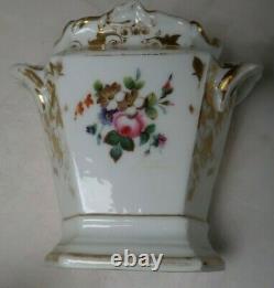 Antique Tea Coffee Set Pot Sugar Bowl & Creamer Germany Porcelain