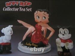 BETTY BOOP COLLECTOR TEA SET by Danbury Mint