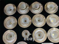 C1810 Antique Spode Porcelain Tea Coffee Set Service Pattern 2461 Gilt Borders