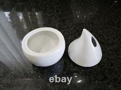 CHODZIEZ POLAND Kropla Hand Made Fine Porcelain Modern Contemporary Tea Set NEW