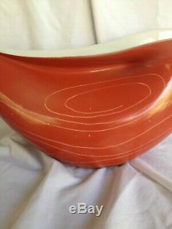 CMIELOW INA Red Porcelain Tea Set by Lubomir Tomaszewski Mid Century Modern