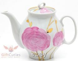 Dulevo Porcelain Coffee or tea set Spring design 6 persons 15 pcs