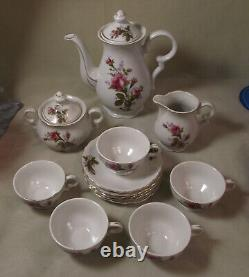 Fred Roberts Moss Rose Porcelain Child Tea Set made in Japan