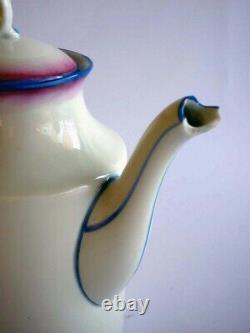 Gio Ponti by Pittoria di Doccia Richard Ginori 1930s Art Deco Porcelain Tea Set