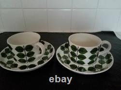 Gustavsberg SWEDEN BERSÅ/Bersa S Lindberg Vintage, 2 Coffee/Tea set NEW $ 310.00