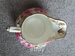 Hammersley & Co. England Cabbage/Peony Rose 15 Pieces Tea Set 1920s