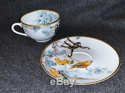 Hermes CARNETS D'EQUATEUR Tea Cup and Saucer Set