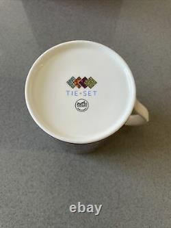 Hermes Tea Cup Tie Set Design- New in Box