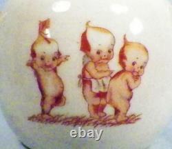 Kewpie Childs Tea Set Vintage Porcelain 19 Pieces Adorable Vintage