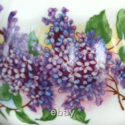 LILAC Floral 15-pc Russian Porcelain TEA SET Dulevsky Farfor, Russia 6/15