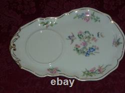 Limoges Porcelain Beautiful Tea Set Unused Exquisite $119.95 + Free Extra Pcs