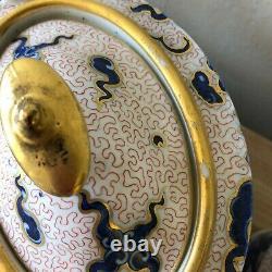 Lovely 13 piece Set English Chinoiserie Dragon & Coral inc. Teapot circa 1800