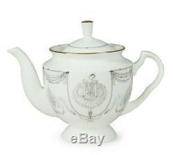 Magic Swan Lake Ballet 14 pc Tea Set Imperial Porcelain Lomonosov LFZ Bone China