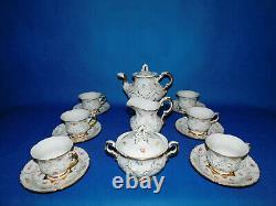 Meissen Tea set for 6 person porcelain