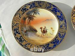 Noritake Camel Desert Scene Tea Set 18pc