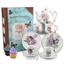 Reutter Porcelain Story Book Tea Set Flower Fairies