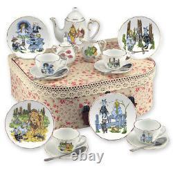 Reutter Porcelain Tea Set In A Case Medium Wizard Of Oz