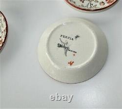 Ridgway Stoke on Trent Persia Children's Tea Set Antique 1880 11 pieces