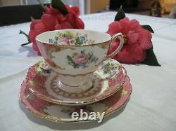Royal Albert Lady Carlyle 14 Piece Tea Set