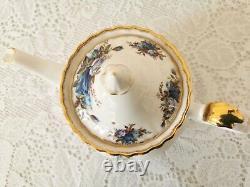 Royal Albert Moonlight Rose Vintage Tea Set, Coffee set Bone China Porcelain Engl