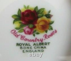 Royal Albert Old Country Roses 21 Piece Tea Set 1962/73 Excellent Condition