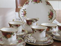 Royal Albert Old Country Roses 21pc Teaset