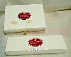 Royal Albert Old Country Roses Gold Plated, Porcelain Tea Spoon Set, Cake Server