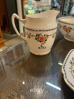 Royal Albert Orange Tree Circa 1920's Tea Set