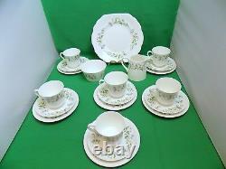 Royal Tuscan Springtime Tea Set 21 Pieces