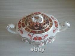 Royal crown derby ram teaset, old imari 1128