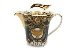 Royalty Porcelain 18-pc Tea Set, Tableware Service for 6, Bone China Porcelain