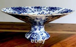 Russian Imperial Lomonosov Porcelain Tea Set Singing Garden 6/22 Gold Leaf 22 K