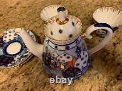 Russian porcelain tea set
