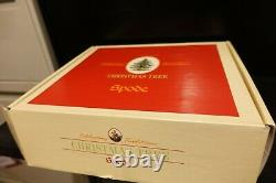 SPODE CHRISTMAS TREE 11 piece Child's Tea Set MINT in Box