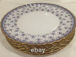 SPODE fleur de lys gold dinner service Tea set plates cups Bowl jug RRP £3500