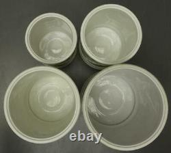 Set 4 Lenox Fine Porcelain horse Carousel Canisters FLOUR SUGAR COFFEE TEA