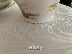 Shelley Old Ireland 13657 Tea Set Coffee Set For 8x Very Rare
