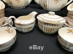 Spode Copeland BUTTERCUP (old backstamp) 27 Piece Lot Tea Set