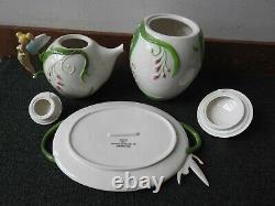 Tinkerbell Tea Set Set of 5 Disney Peter Pan Ceramic Tableware Porcelain