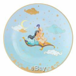 Tokyo Disney Sea Aladdin & Jasmine Teapot & tea cup & dish set lamp pot Gift TDR