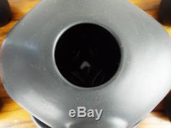 Vintage 7 Piece Tea Set Peter Saenger Black Biomorphic Ceramic Signed Star Trek