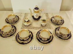Vintage Bavaria Tea Set Breakfast Lunch Cake Plate 18 pc Set