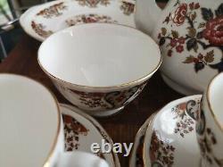 Vintage Colclough Bone China Royale large Tea Set Pattern 8525
